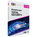 Bitdefender Total Security 2016 - 1 ano - 3 PCs