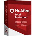 McAfee Total Protection 2016 - 1 ano - 3 PCs